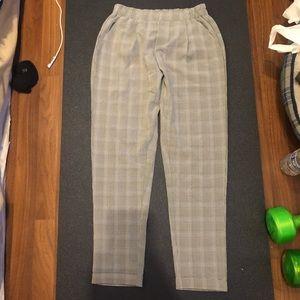 Nasty Gal Pants & Jumpsuits - Cropped plaid pants